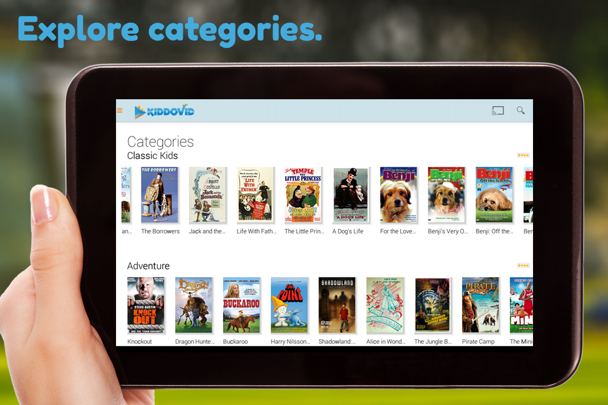 Phone Download Free Full Movies For Android Phones kiddovid free kids movies android apps on google play screenshot
