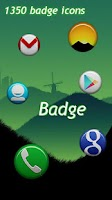 Screenshot of Badge Theme GO/Apex/Nova