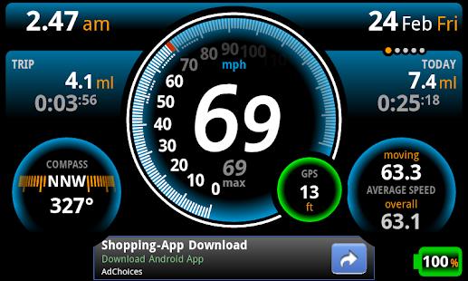 Ulysse Speedometer Screenshot 8