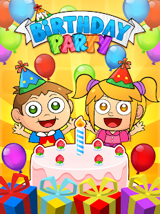 My Birthday Party Cakes Gifts and Friends Android Apps on