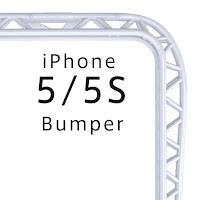 iPhone5/5S バンパー(プラスチック)ホワイト 『truss』