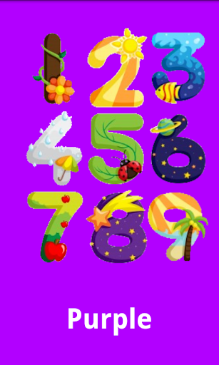 Colors And Numbers For Babies