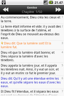 La Sainte Bible, Louis Segond- screenshot thumbnail