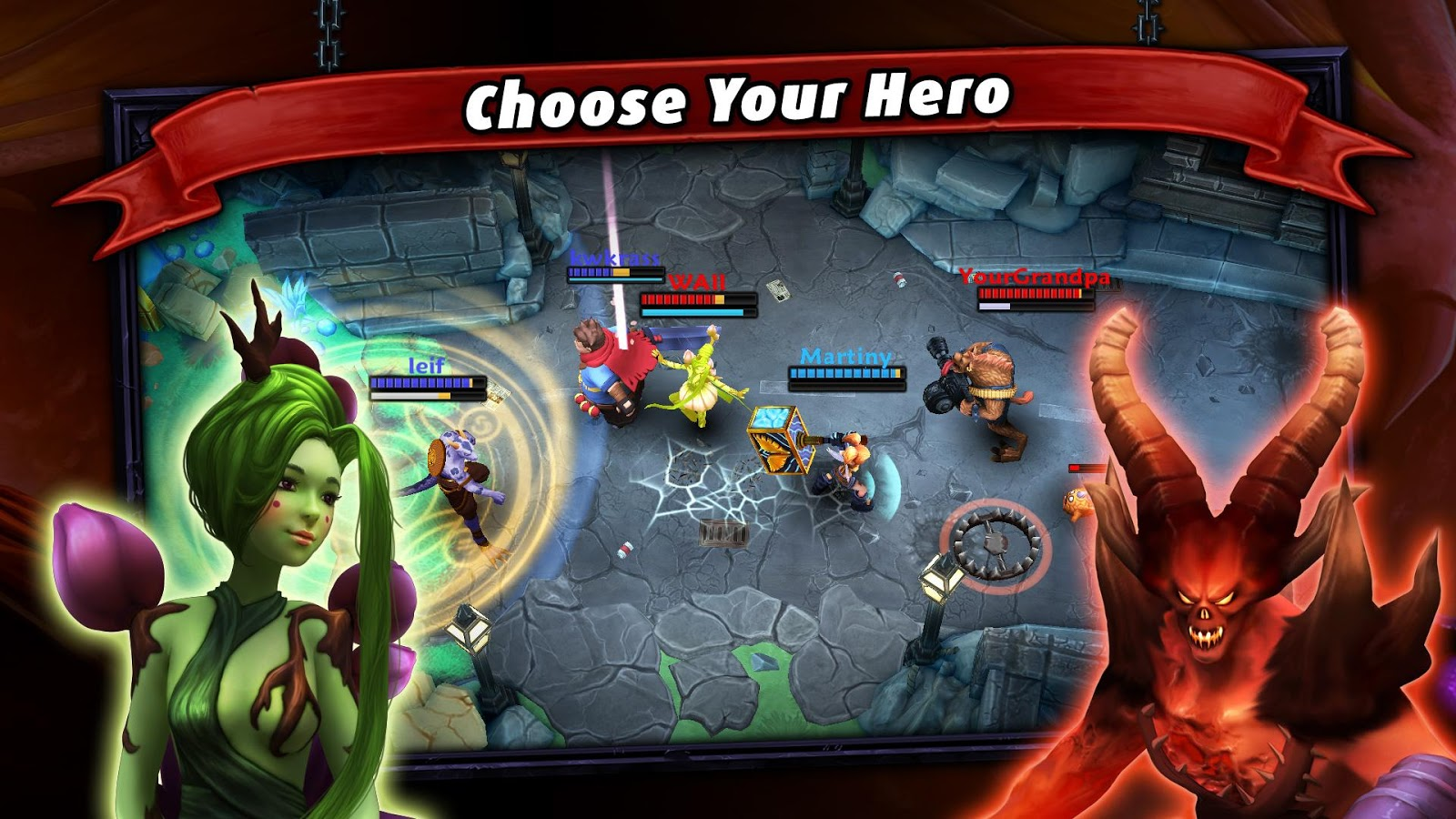 Heroes of SoulCraft - MOBA- screenshot