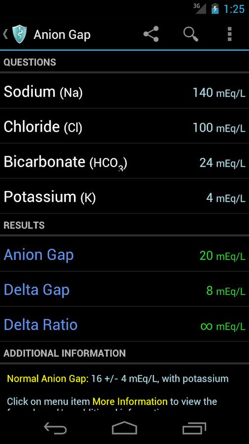MediCalc Medical Calculator- screenshot