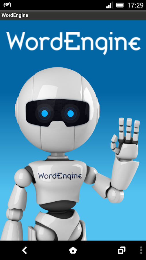 WordEngine- screenshot