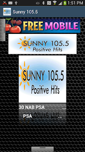 Sunny 105.5 - screenshot thumbnail