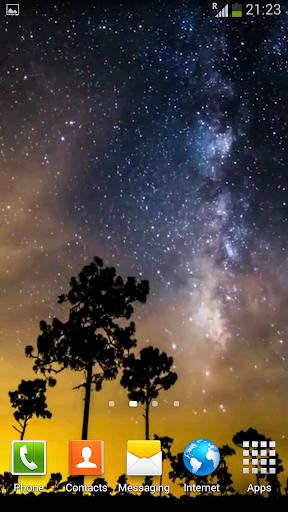 個人化必備APP下載|Night Time-Lapse Video LWP 好玩app不花錢|綠色工廠好玩App