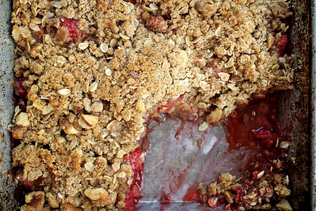 Strawberry Raspberry Crumble Recipe