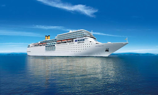 Costa neoRomantica's cruises include port calls in Europe, the Middle East and the Indian Ocean.