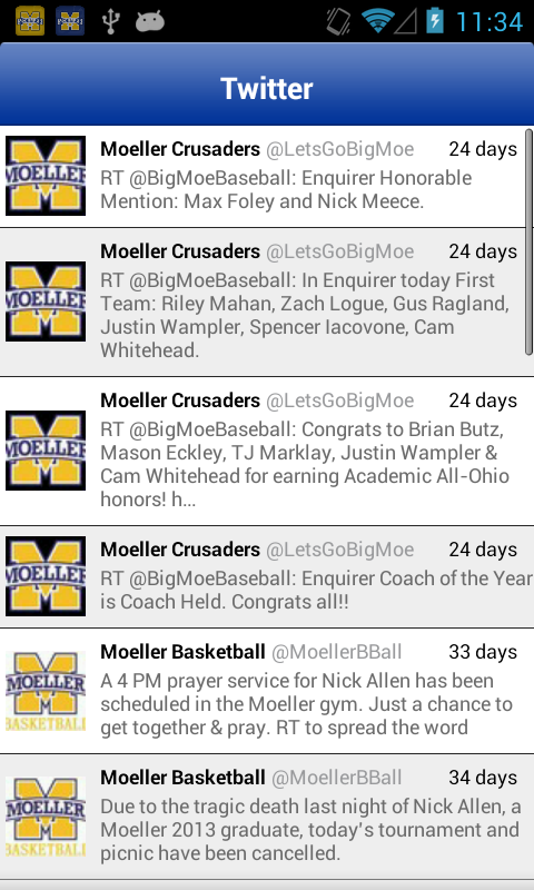 Moeller Sports Lite - screenshot