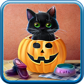 Cute Halloween Live Wallpaper APK for Bluestacks