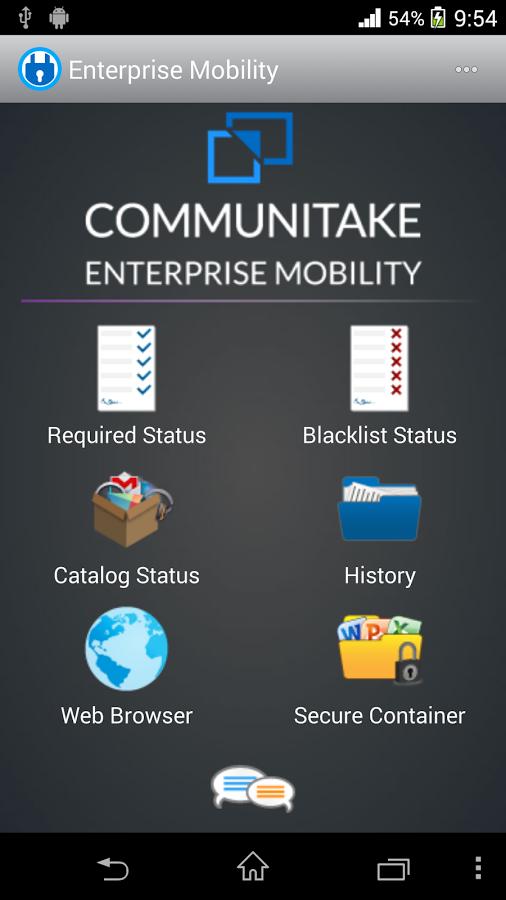 Enterprise Mobility (Bell) - screenshot
