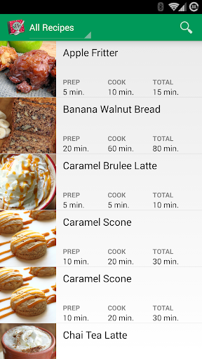Recipe Guide for Starbucks
