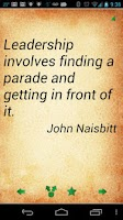 Screenshot of Leadership Quotes