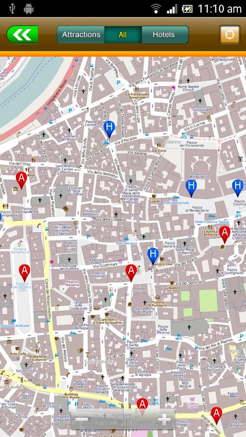 Rome Offline Map Travel Guide- screenshot