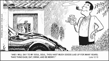 Screenshot of Chick Tracts - English