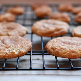 Super Soft Snickerdoodle Cookies.