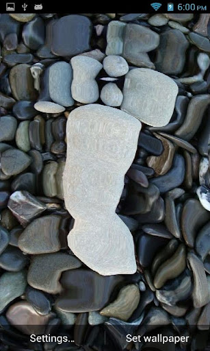 Touch Foot Stones LWP