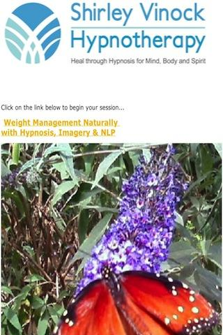 Weigh Less Naturally Hypnosis - screenshot
