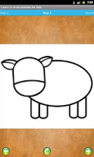 Learn to draw animals for Kids- screenshot thumbnail