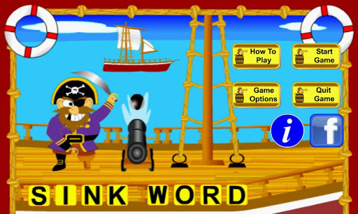Sink Word Pirate Schooner