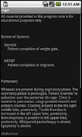 Screenshot of Smart Medical Apps - H&P