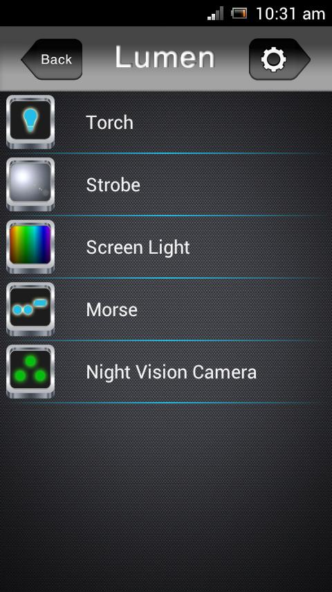 Lumen - LED Torch HD - screenshot