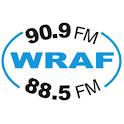 Christian Radio – WRAF logo