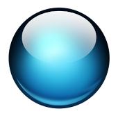 Blue Sphere Multi Theme