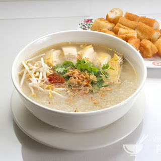 Chicken and rice soup - Cháo gà