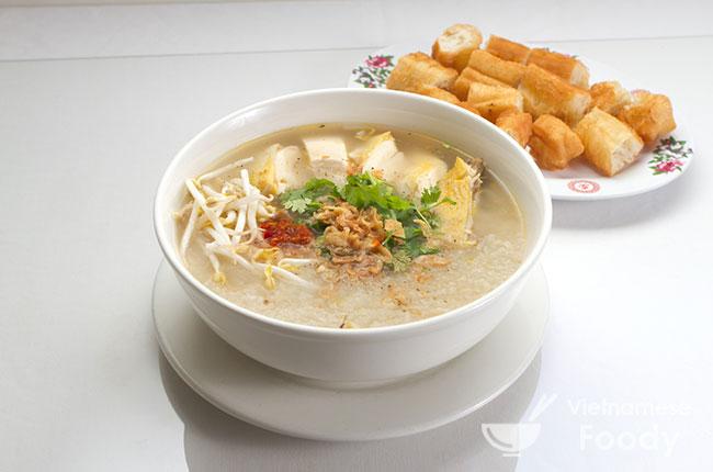 Chicken and Rice Soup - CháO Gà Recipe