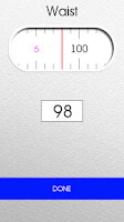 Screenshot of Weight control