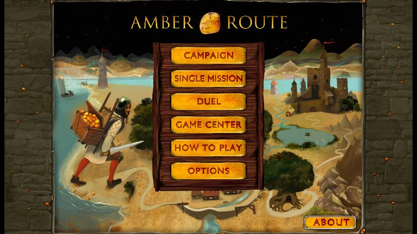 Amber Route - screenshot
