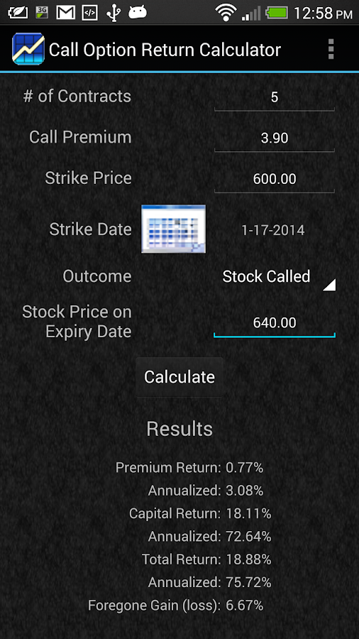Fx options pricing calculator
