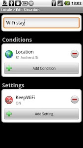 KeepWiFi Locale screenshot 1
