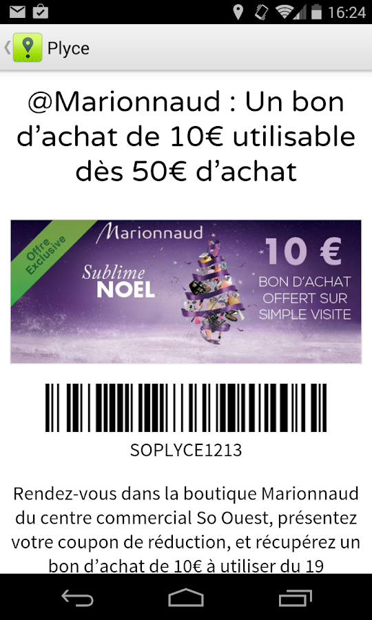 Plyce - Coupons, prix essence - screenshot