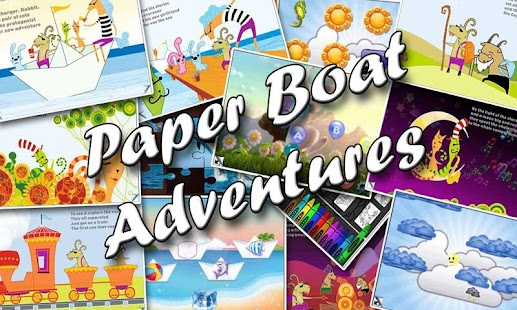 Paper Boat  Adventures - screenshot thumbnail