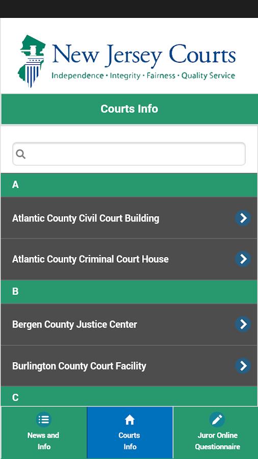 New Jersey Juror - screenshot