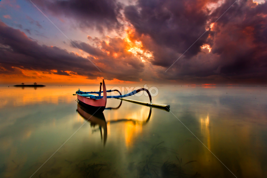 Facing Forward by Choky Ochtavian Watulingas - Landscapes Waterscapes ( clouds, reflections, seascape, sunrise, csv )