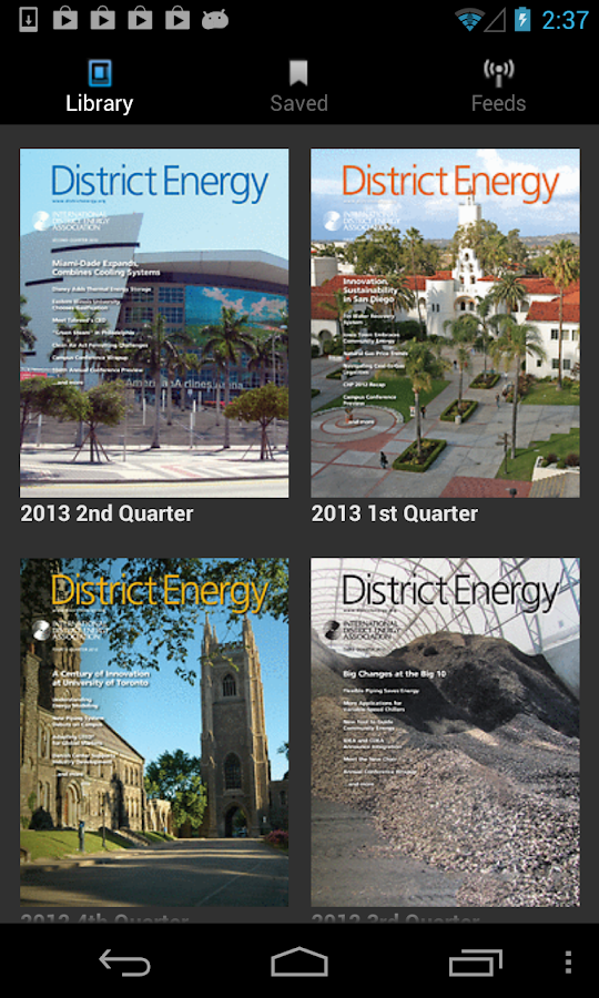District Energy Magazine- screenshot
