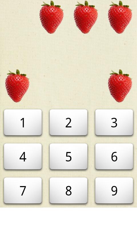 Counting Fruits- screenshot
