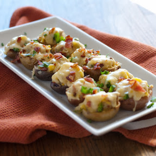 Broccoli Bacon Cheddar Potato Bites
