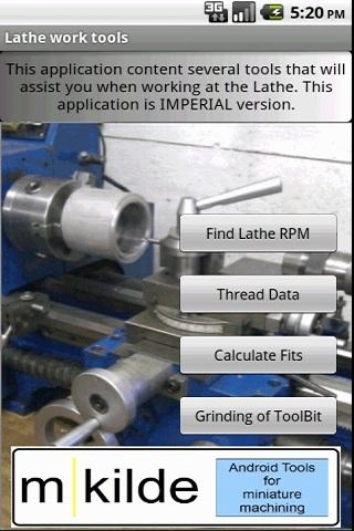 Lathe Tool- screenshot