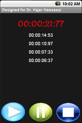 ChronoHaj - screenshot