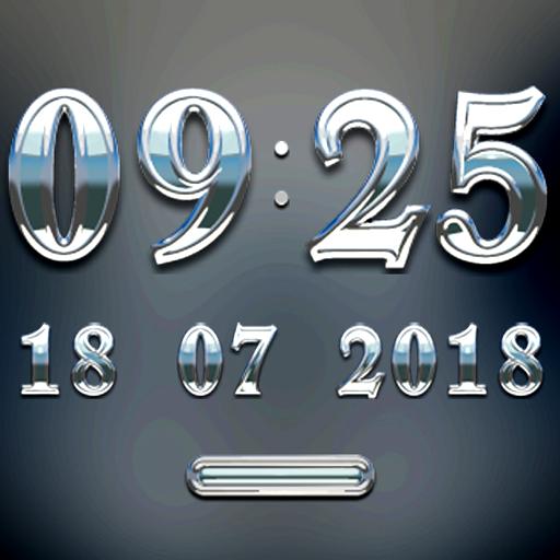 SILVERSUN Digital Clock Widget 生活 App LOGO-APP試玩