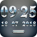 SILVERSUN Digital Clock Widget