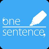 원센텐스 - 책, 문장, 독서노트, 명언, 영화 대사