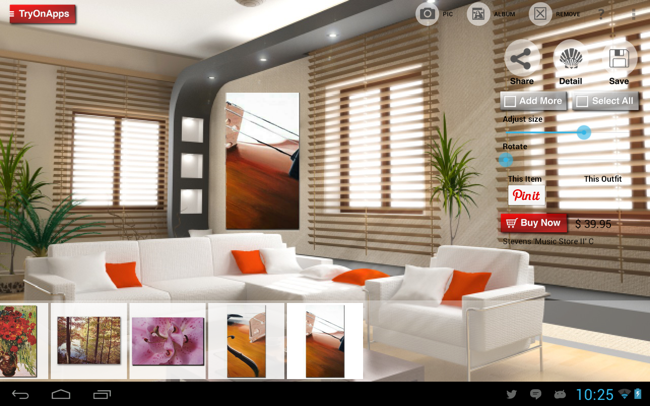 Virtual home decor design tool android apps on google play for Interior design decoration app