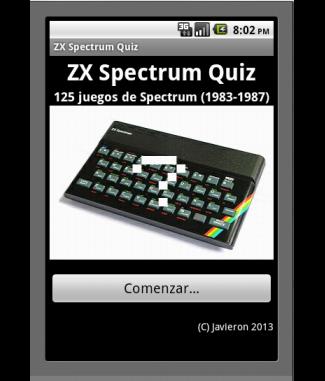 ZX Spectrum Quiz